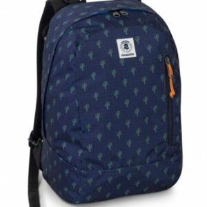 Zaino Backpack Invicta reversibile blu - Abc La Cartoleria