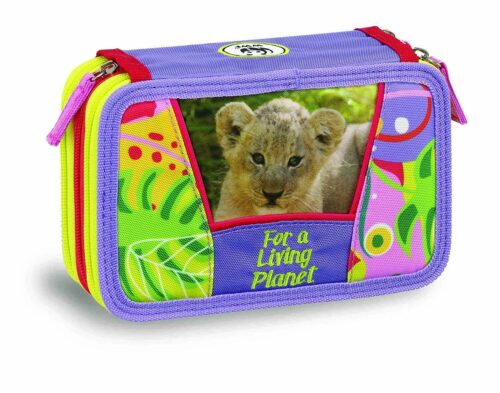 Astuccio 3 zip Wwf Jungle - Abc La Cartoleria Pavullo