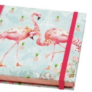 Notebook con penna Flamingos - Santoro - Abc La Cartoleria - Pavullo