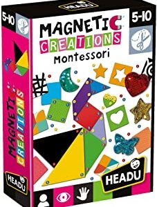 Headu - Magnetic Creations Montessori - Abc La Cartoleria