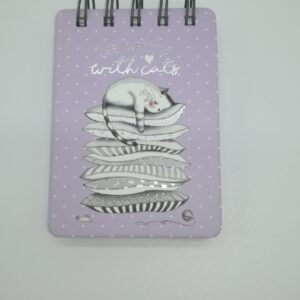 Mini notes con spirale Cats Legami - Abc La Cartoleria Pavullo