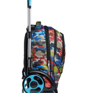 Trolley Seven Jack Tyre Adventure Camo - Abc La Cartoleria Pavullo